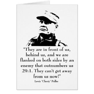 "Lewis ""Chesty"" Puller Card"