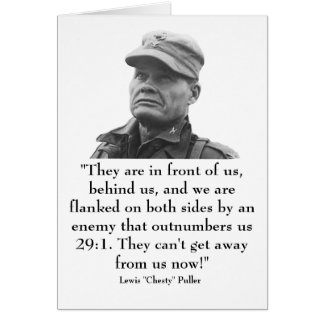 """Lewis """"Chesty"""" Puller Cards"""