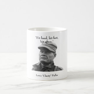 """Lewis """"Chesty"""" Puller Classic White Coffee Mug"""