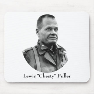 """Lewis """"Chesty"""" Puller Mouse Pad"""