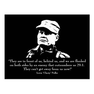 """Lewis """"Chesty"""" Puller Postcard"""