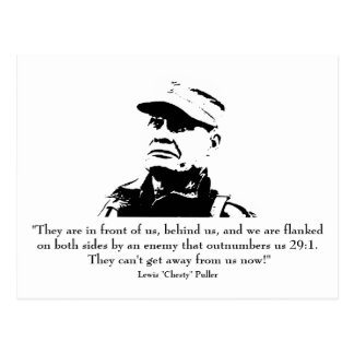 "Lewis ""Chesty"" Puller Postcard"