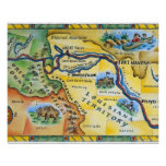 Lewis & Clark Expedition Map Print