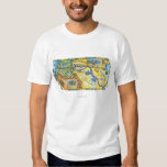 Lewis & Clark Expedition Map Shirts
