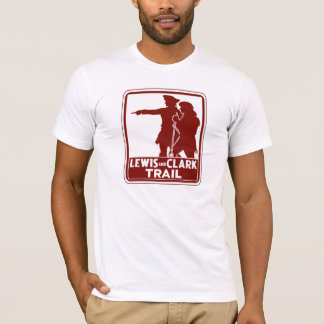 Lewis & Clark, Traffic Guide Sign, USA T-Shirt