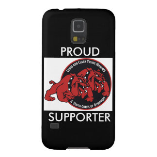 Lewis & Clark Young Marine Proud Supporter (Black) Galaxy S5 Case