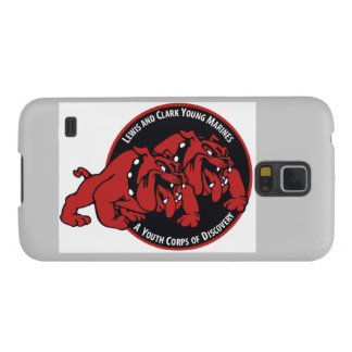 Lewis & Clark Young Marines Proud Supporter (Grey) Case For Galaxy S5