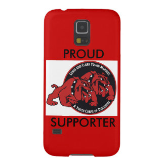 Lewis & Clark Young Marines Proud Supporter (Red) Galaxy S5 Cover