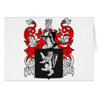 Lewis Coat of Arms Card