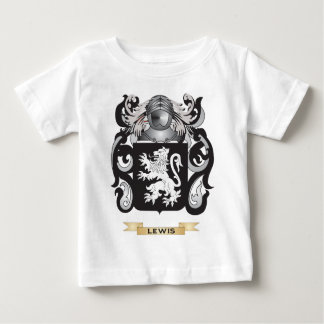 Lewis Coat of Arms (Family Crest) Baby T-Shirt