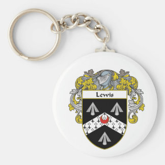 Lewis Coat of Arms (Mantled) Keychain