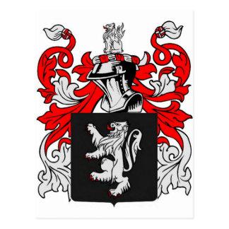 Lewis Coat of Arms Postcard