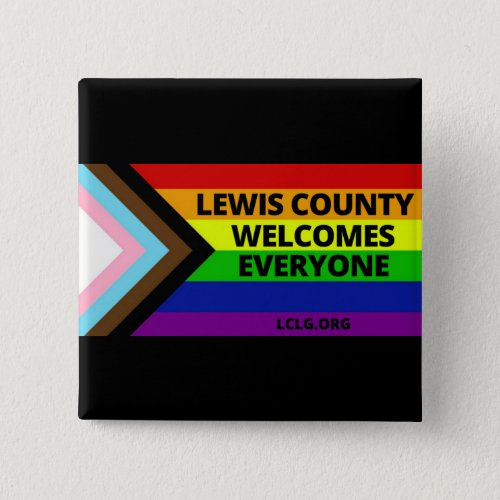 Lewis County Welcomes Everyone Button