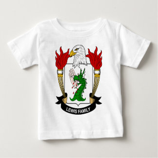 Lewis Family Coat of Arms Baby T-Shirt