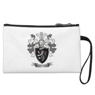 Lewis Family Crest Coat of Arms Wristlet Wallet
