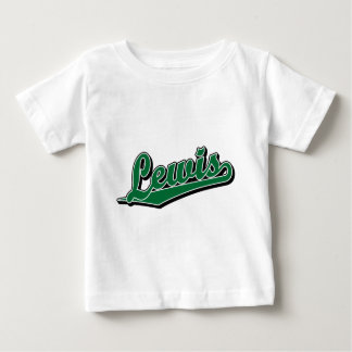 Lewis in Green Baby T-Shirt