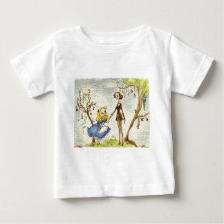 Lewis in Wonderland shirts