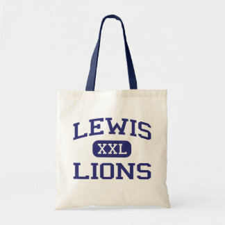 Lewis Lions Middle Roxbury Massachusetts Tote Bags