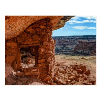 Lewis Lodge Anasazi Ruin - Cedar Mesa - Utah Postcard