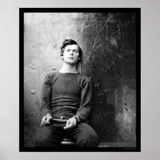 Lewis Payne, conspirador 1865 de Lincoln Poster