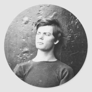Lewis Payne ~ Lincoln Conspirator 1865 Classic Round Sticker