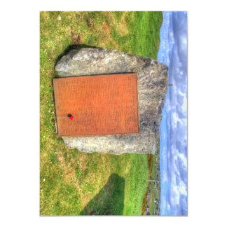 Lewis War Memorial 4.5x6.25 Paper Invitation Card