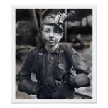 Lewis Wickes Hine - Portrait of Tipple Boy Poster