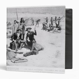 Lewis y Clark en la boca de Columbia