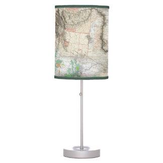 Lewis y Clark Lámpara De Mesilla De Noche