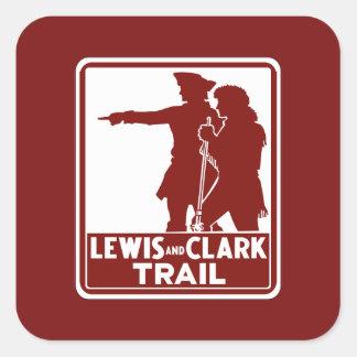 Lewis y Clark, muestra de la guía del tráfico, los