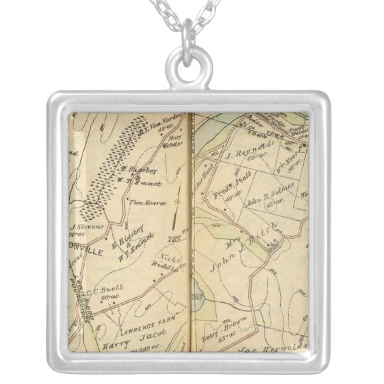Lewisboro, New York 2 Silver Plated Necklace