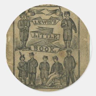 Lewis's Little Children's Book Cover 1865 Classic Round Sticker