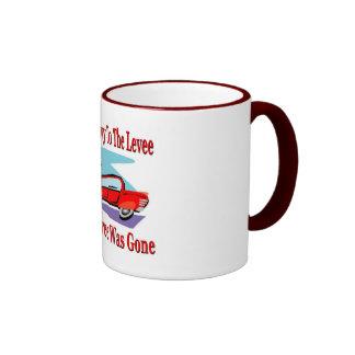 Lewvee Was Gone Ringer Coffee Mug