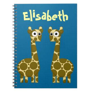 Lewy & Gemma Spiral Notebook