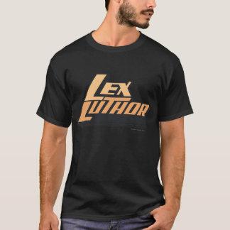 Lex Luther - dos líneas Playera