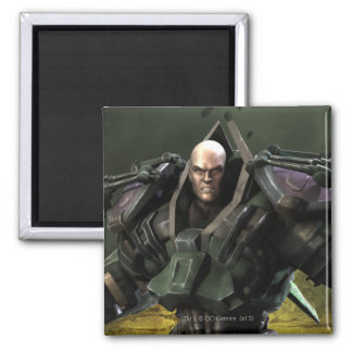 Lex Luthor 2 Inch Square Magnet