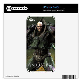 Lex Luthor Decals For The iPhone 4S