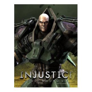 Lex Luthor Postcard
