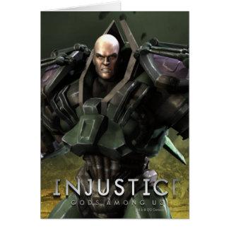 Lex Luthor Tarjeta