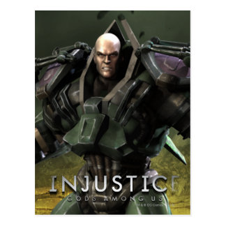 Lex Luthor Tarjeta Postal