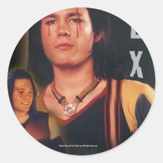 Lex The Tribe Classic Round Sticker