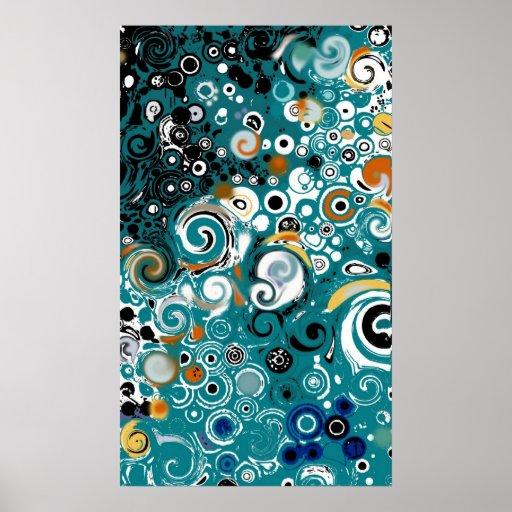 LEXA - Poster abstracto
