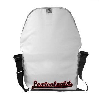 Lexicologist Classic Job Design Courier Bag