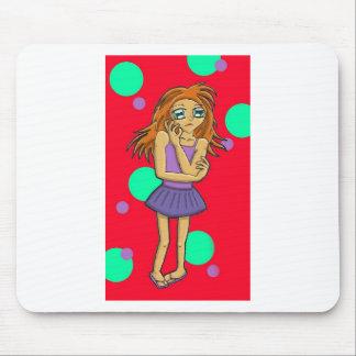Lexie, carácter de la galería de arte del animado alfombrilla de raton