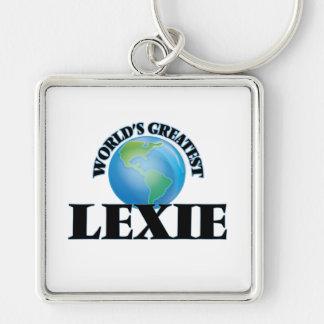 Lexie más grande del mundo llavero