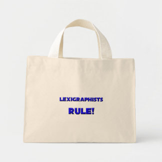 Lexigraphists Rule! Tote Bags