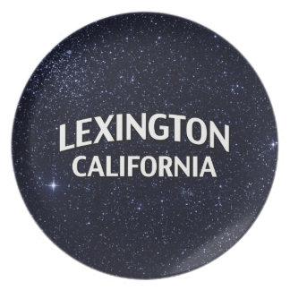 Lexington California Plate