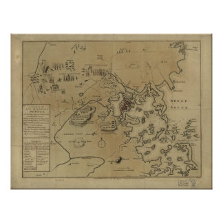 Lexington, Concord, & Siege of Boston Posters