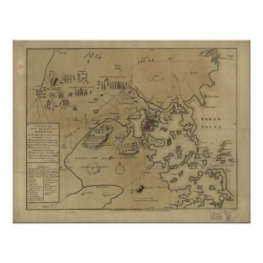 Lexington, Concord, & Siege of Boston Poster