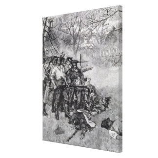 Lexington Green Canvas Print